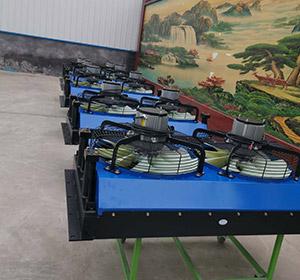 步履式打樁架用液壓油冷卻器