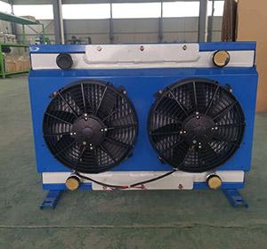 護欄打樁機用液壓油冷卻器