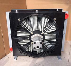 混凝土泵车用液压油散热器
