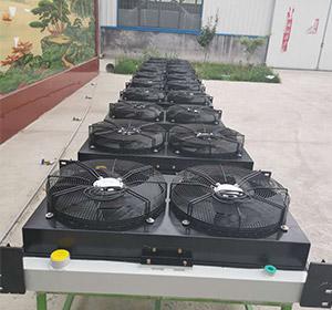 噴濕臺車用風冷卻器
