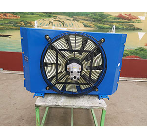 混凝土泵车用风冷式冷却器