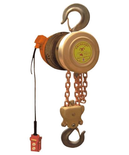 <知识>防爆手扳葫芦的使用 DHBT防爆环链电动葫芦的优越性