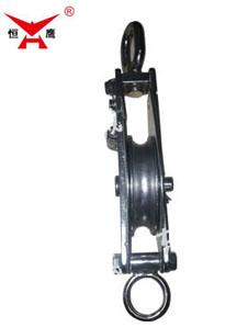 单轮环链不锈钢滑车