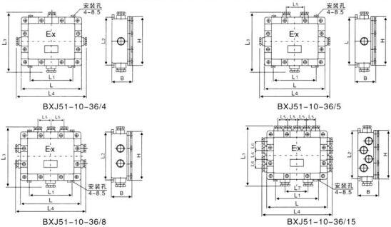 BXJ51系列防爆接线箱