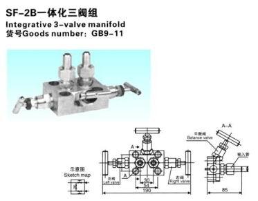 SF-2B一体化三阀组