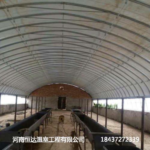 安装养殖大棚
