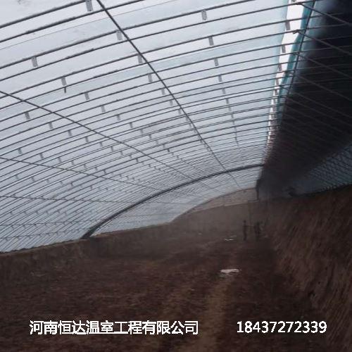 专业安装温室大棚骨架