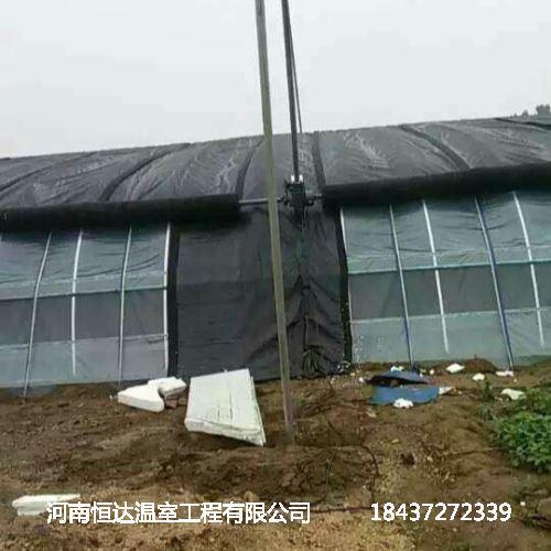 双屋面温室