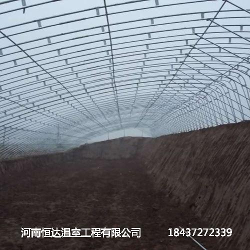 温室大棚骨架建设