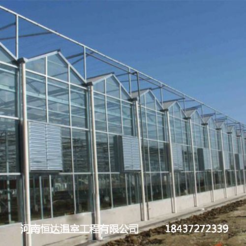 玻璃温室大棚