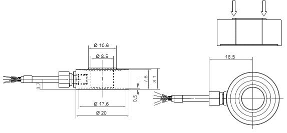 测力传感器图纸