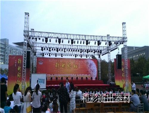 武汉舞台音响安装