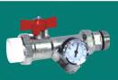 ppr管件丨带表过滤器球阀