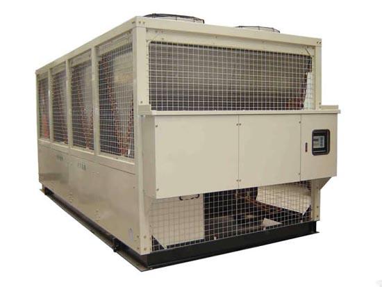 风冷热泵螺杆式机组安装