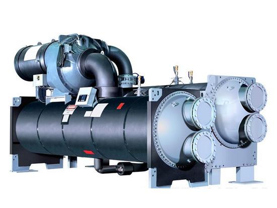 离心式冷水机组安装