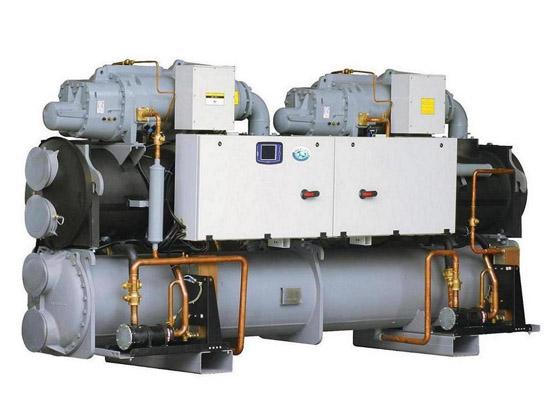 螺杆式冷水机组安装