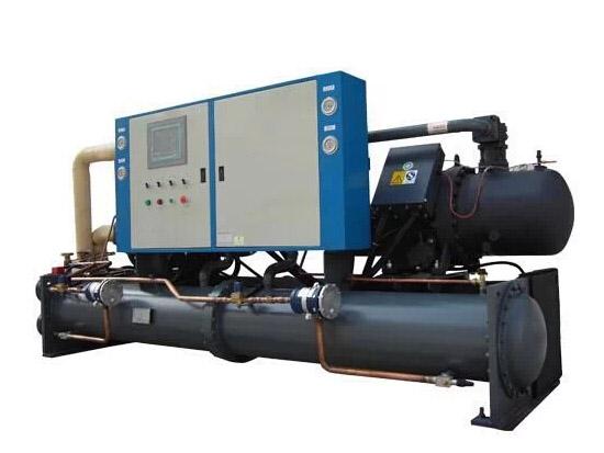 水地源热泵机组安装