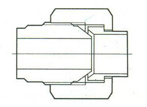 焊接管接头