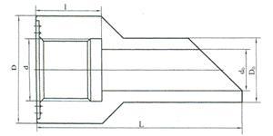 45°角形连接头