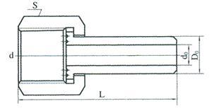 液面计蒸汽夹套接头(三)