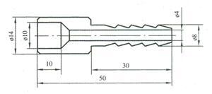 端焊接橡胶管接头