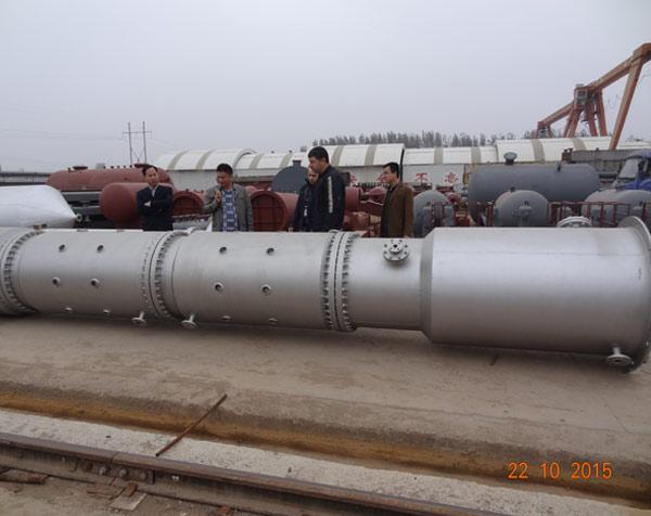 反应压力容器制造