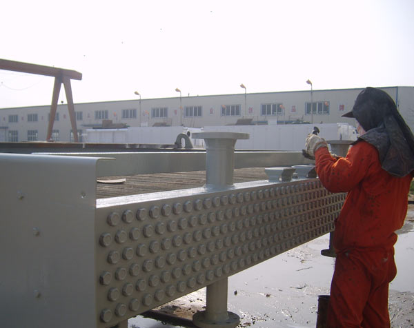 空冷器镍磷镀防腐