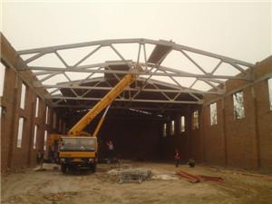混凝土折线形屋架