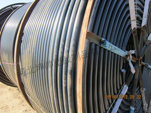 吉林HDPE硅芯管_HDPE硅芯管管材_坤帅生产线专业