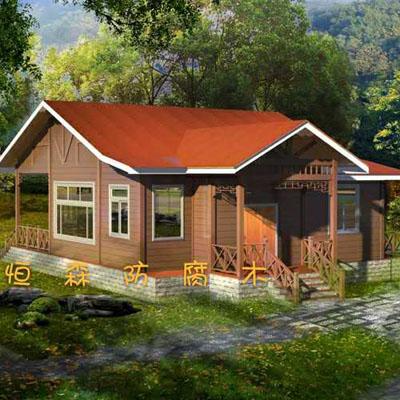 贵州防腐木房子