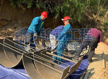 回水塔防水加固施工