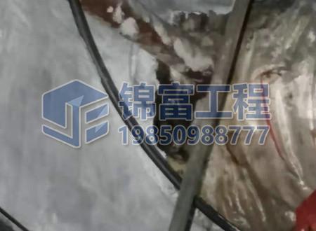墙面裂缝补漏工程