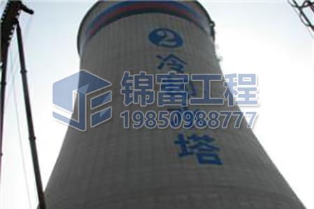 冷却塔外壁堵漏防腐工程