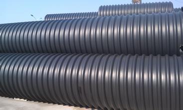 郑州hdpe钢带增强螺旋波纹管