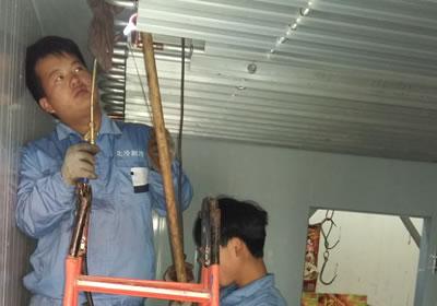 【】石家庄冷库安装知识 中央空调风管的清洗方法