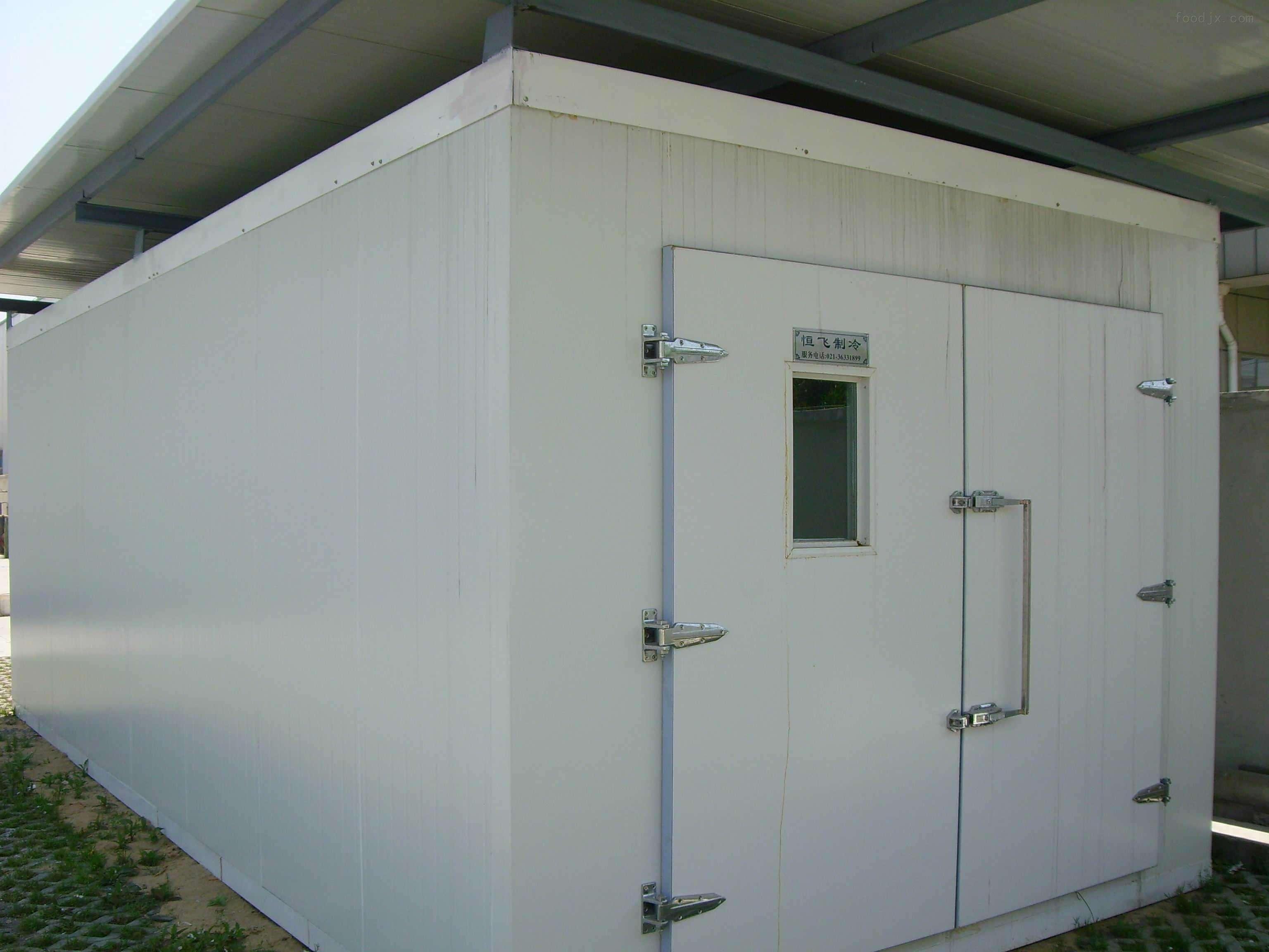 【组图】中央空调日常清洗的内容 石家庄鲜肉冷库的安装