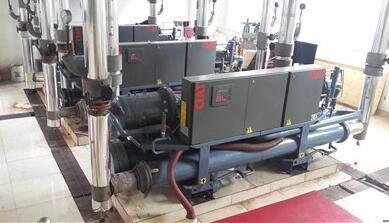 中央空调冷水机组清洗