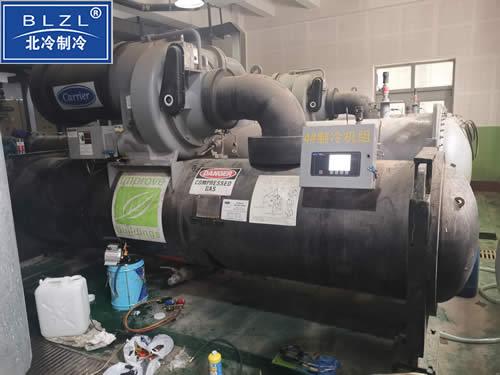 中央空调冷水机组冷凝器除垢