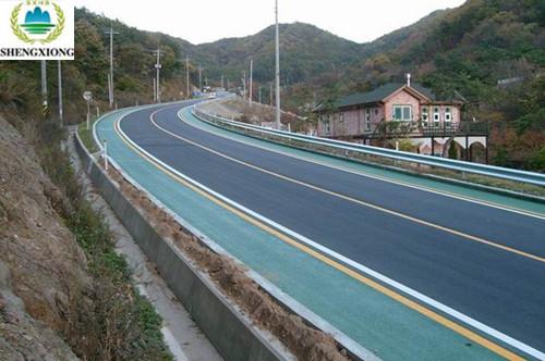 陕西彩色马路
