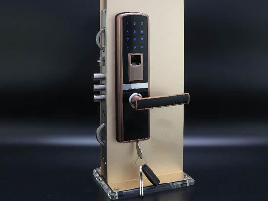 漯河指纹锁物美价廉 监控 指纹锁安全吗