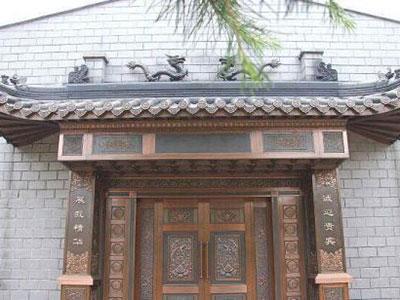 仿古建筑门头
