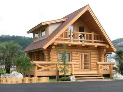 石家庄防腐木屋