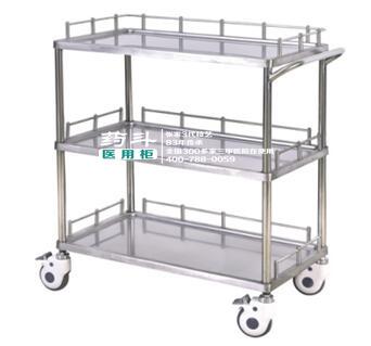 不锈钢器械车YD-10002