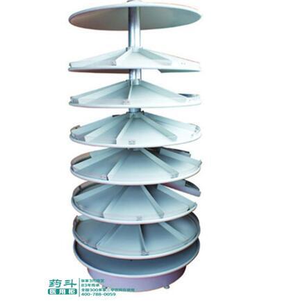 钢制旋转式药品架YD-1301