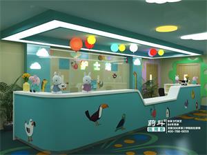 U型儿童护士站