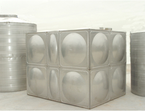 【专家】水箱腐蚀性介质 全不锈钢组合水箱设备外型整洁
