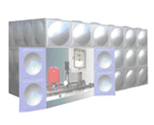 智能型箱泵一体化泵站SMC水箱性能 不锈钢焊接式常压水箱操作步骤