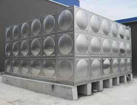 智能型箱泵一体化泵站水箱适应性强 组合式不锈钢水箱制作设备