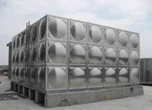 智能型箱泵一体化泵站不锈钢焊接式常压水箱厂家 水箱工艺