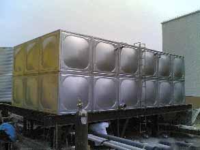 【图解】水箱生产工艺 全不锈钢组合水箱设备强度高